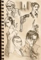 Sketch:  Film-Noir by Chuck-Nothing