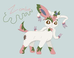 Zombie the Sylveon by XDTheServine