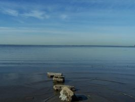 Stones and Ripples 4 by Hermit-stock