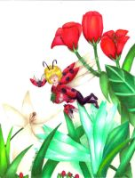 Flight of the Ladybugs by ZOMGwingly