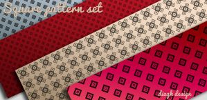 Free 5 custom square patterns for Photoshop by DiaGK
