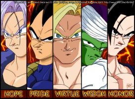 DBZ: Five Warriors by mersades