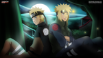 Minato and Naruto - father and son by TeDeIk