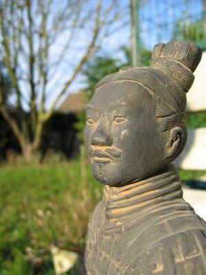 Chinese Soldier by Betenoir