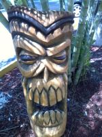 Tiki Skull preview by tflounder