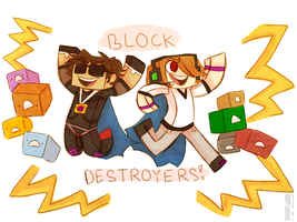 Block Destroyers! by 1WebRainbowe1