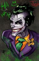 HAHAHAHAHA Joker by IronWarrior777
