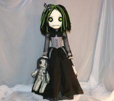 A doll with a voodoo doll 1023 by Zosomoto