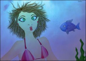 Fish face by stardixa
