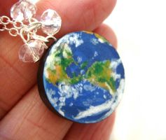 Earth Necklace by KawaiiCulture