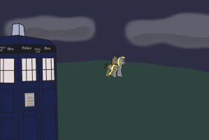 The Doctor and Ditzy by Ahack13