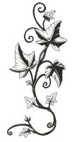 Floral tattoo commission by joepalmer