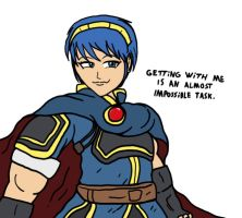 Marth by Agent-Jin