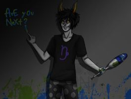 Gamzee gone wrong by OoAnne-KakaoO