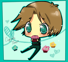 SHD: murphy and cupcakes :D! by ritsuneko69