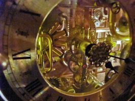Steampunk Clock 1(5) by dkart71