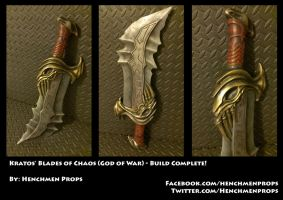 Blades of Chaos (God of War) by HenchmenProps