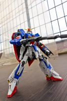 Z Gundam on the Roof 2 by HiroyRaind