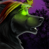 LupineAssassin Icon Commission by Ifus