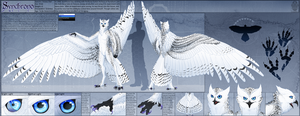 Ref Sheet Comish - Synchrono by TwilightSaint
