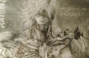 Metal Gear Rising: Raiden by Lukitzo