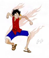 Luffy's Gear Second by Coconut-CocaCola
