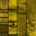 Yellow Grunge Metal Textures by sdwhaven