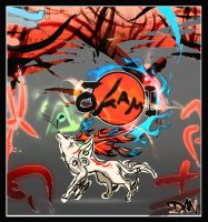 Okami Poster by theblastedfrench
