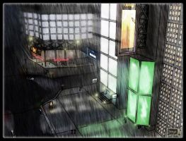 Rain City by Ergrassa