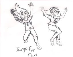 Jump for fun by Bella-Who-1
