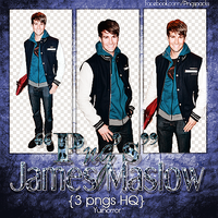 Pack Png James Maslow by YuiWTF