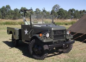 Dodge Weapons carrier by RedtailFox