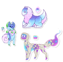 [CLOSED] - Pastel Point Auction by ShardLovesPotatoes