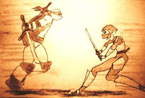 Request: Leo vs Karai by CpointSpoint