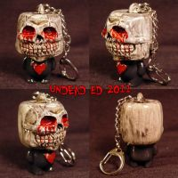 Munny Style Death has a heart by Undead-Art