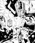 Galactus meets the Doctor by dannphillips