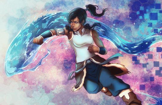 Legend of Korra - Waterbender 2016 by DocWendigo