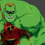 Mr.Incredible HULK by theCHAMBA