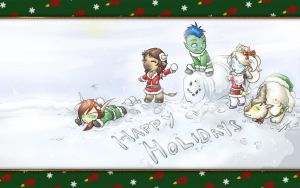 Wowhead Christmas - 2009 by Noxychu