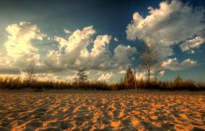 beach clouds. by theycome