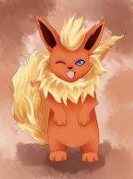 Flareon by shycatgirl