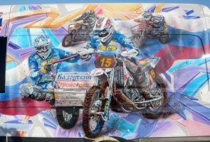 WV crafter motocross closer 2 by hotabych