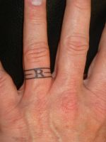 Wedding Ring Tattoo by welcometoreality