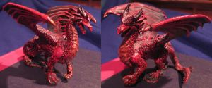 The Red Dragon by gadren