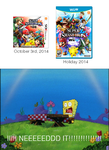 Everyone's reaction to the SSB4 release dates by TheWolfBunny