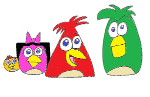 Phineas and Friends in Angry Birds Version by DisneyDude-94
