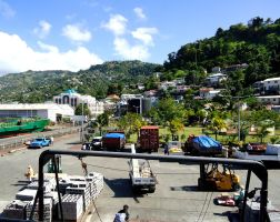 The port on St Vincent by WendyMitchell