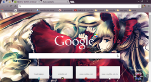 Shinku theme google chrome by alechivis