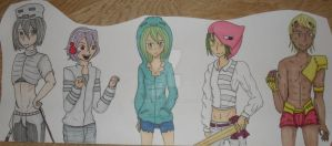 minecraft mobs by Jeanette9a
