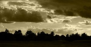 incoming clouds by awjay